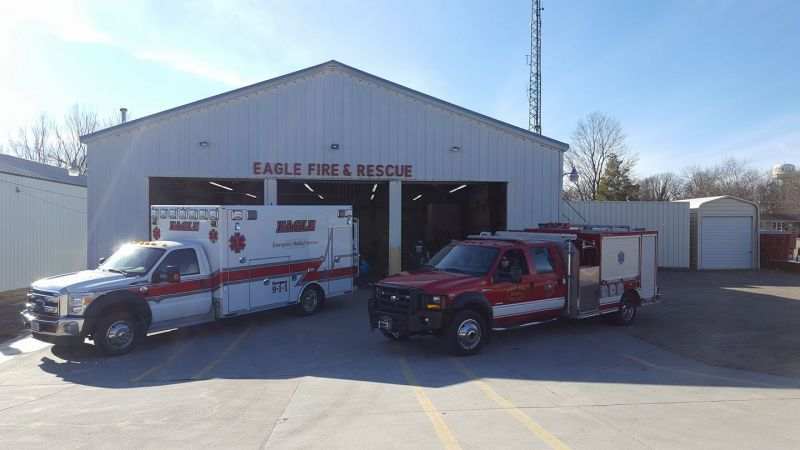 Eagle Fire & Rescue with Trucks